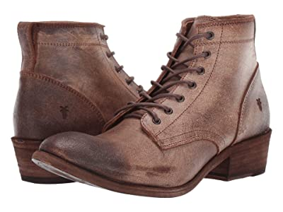 Frye Carson Lace Up (Chocolate) Cowboy Boots