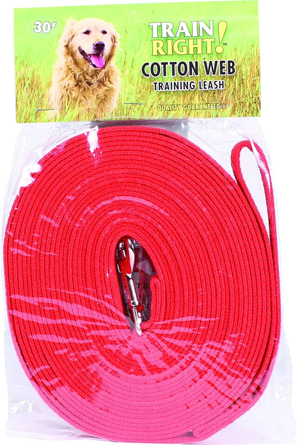 Coastal Pet Products DCP530RED Cotton Web Lead