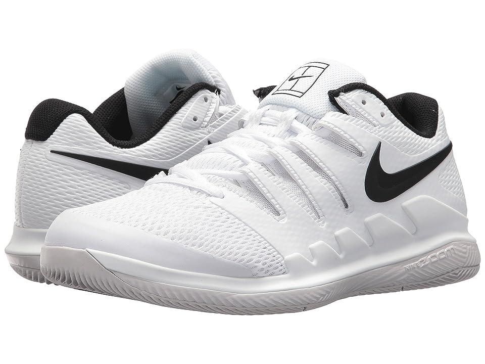 Nike Air Zoom Vapor X (White/Black/Vast Grey/Summit White) Men