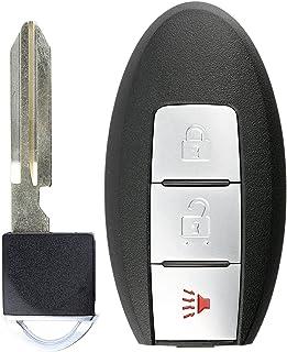KeylessOption Keyless Entry Remote Car Smart Key Fob for Nissan Pathfinder Versa Rogue CWTWB1U729
