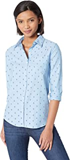 Amazon Essentials - Camisa Oxford de manga larga y corte cl