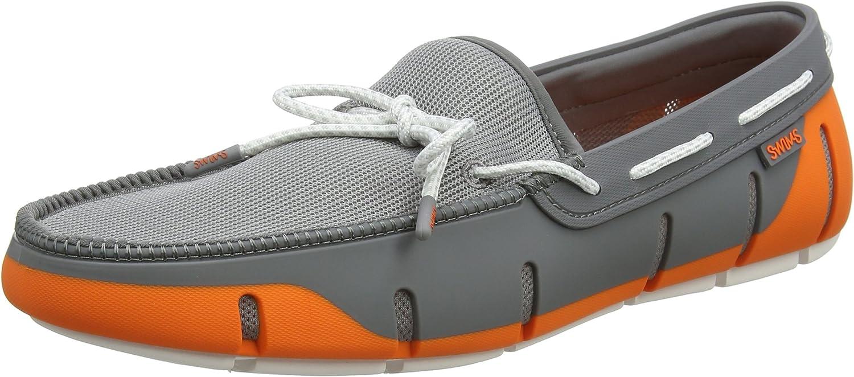 Swims Men's Stride Lace Loafers UK 8 orange