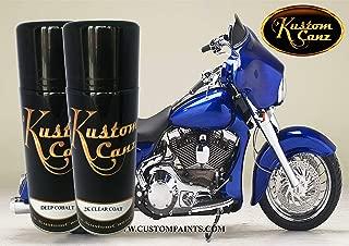 Kustom Canz Harley Davidson Deep Cobalt - 12oz Aerosol can Kit Paint Code 60807