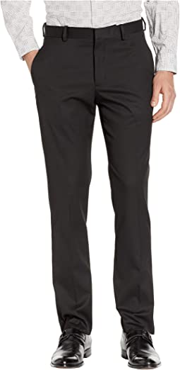 Slim Fit Stretch Flat Front No-Iron Dress Pants