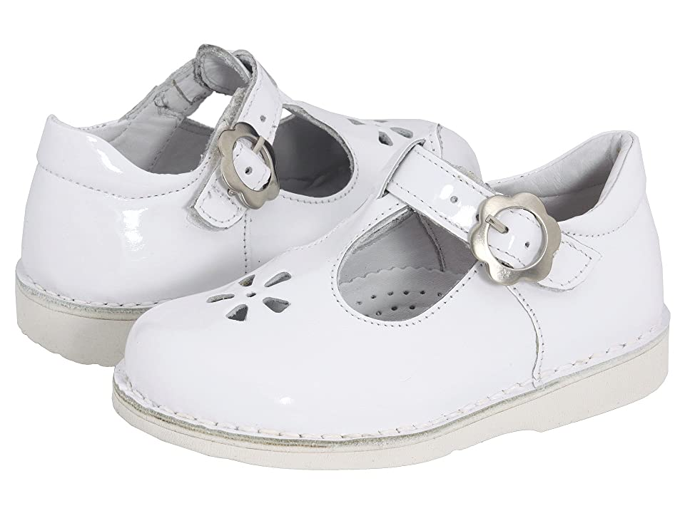 Kid Express Molly (Toddler/Little Kid/Big Kid) (White Patent) Girls Shoes