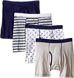Trimfit - Monster Cotton Boxer Briefs 4-Pack (Toddler/Little Kids/Big Kids)