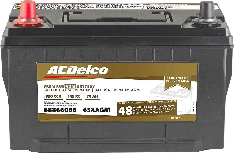 ACDelco Gold 65XAGM Regular dealer 48 Month Warranty B Group Premium Dealing full price reduction BCI 65 AGM