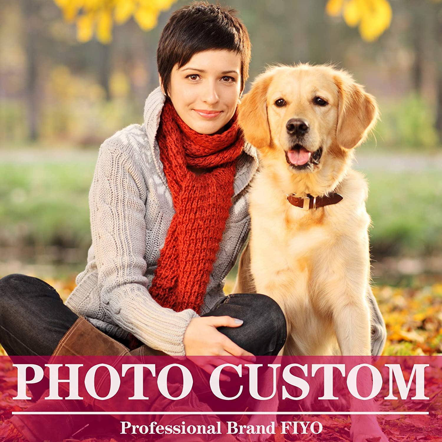 Custom 5D Diamond Painting Kits for Adults with Your Photo DIY,