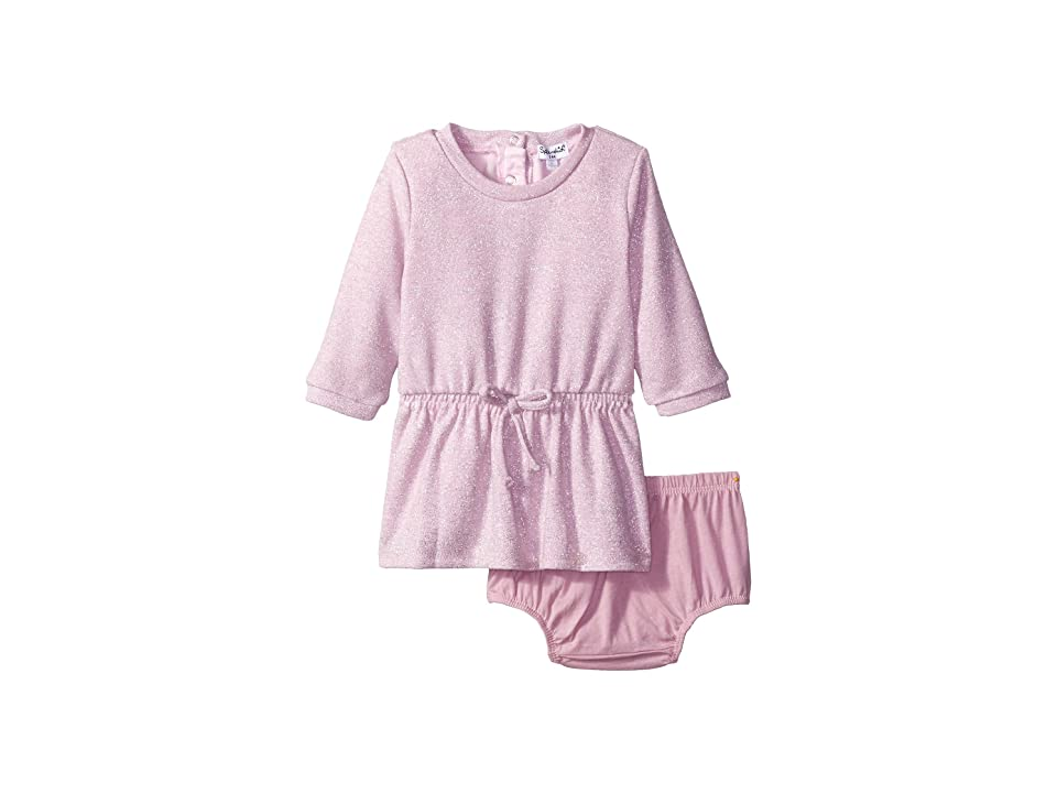 Splendid Littles Lurex Sweater Knit Dress (Infant) (Light Pink) Girl