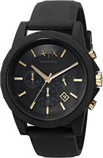 Armani Exchange Men's AX7105 Chronograph Quartz Black Watch