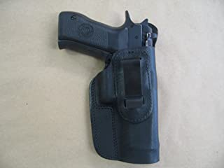 EAA Witness 9mm / .40 IWB Leather In Waistband Conceal Carry Holster BLACK