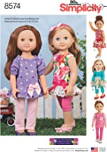 14 inch doll clothes patterns