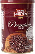Trung Nguyen - Premium Blend - 15 Ounce Can   Vietnamese Coffee Ground Bean, Robusta and Arabica Premium Coffee Blend, Intense Flavor and Fragrance with Chocolate Hint, Medium Roast with Low Acidity