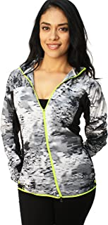 Women's Printed Trail Kiger Full-Zip Running Jacket