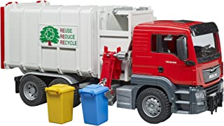 bruder Toys 03761 Man TGS Side Loading Garbage Truck