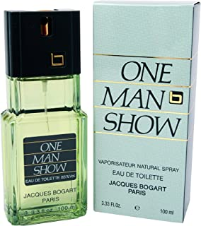 Jacques Bogart One Man Show For Men. Eau De Toilette Spray 3.3 Ounces