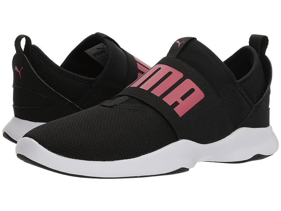 Puma Kids Puma Dare (Big Kid) (Puma Black/Paradise) Girls Shoes