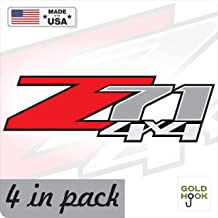 Z71 Decal Replacement Sticker 07 - 13 | Bedside Off Road Emblem for 4x4 Truck GMC Sierra Chevy Silverado Suburban