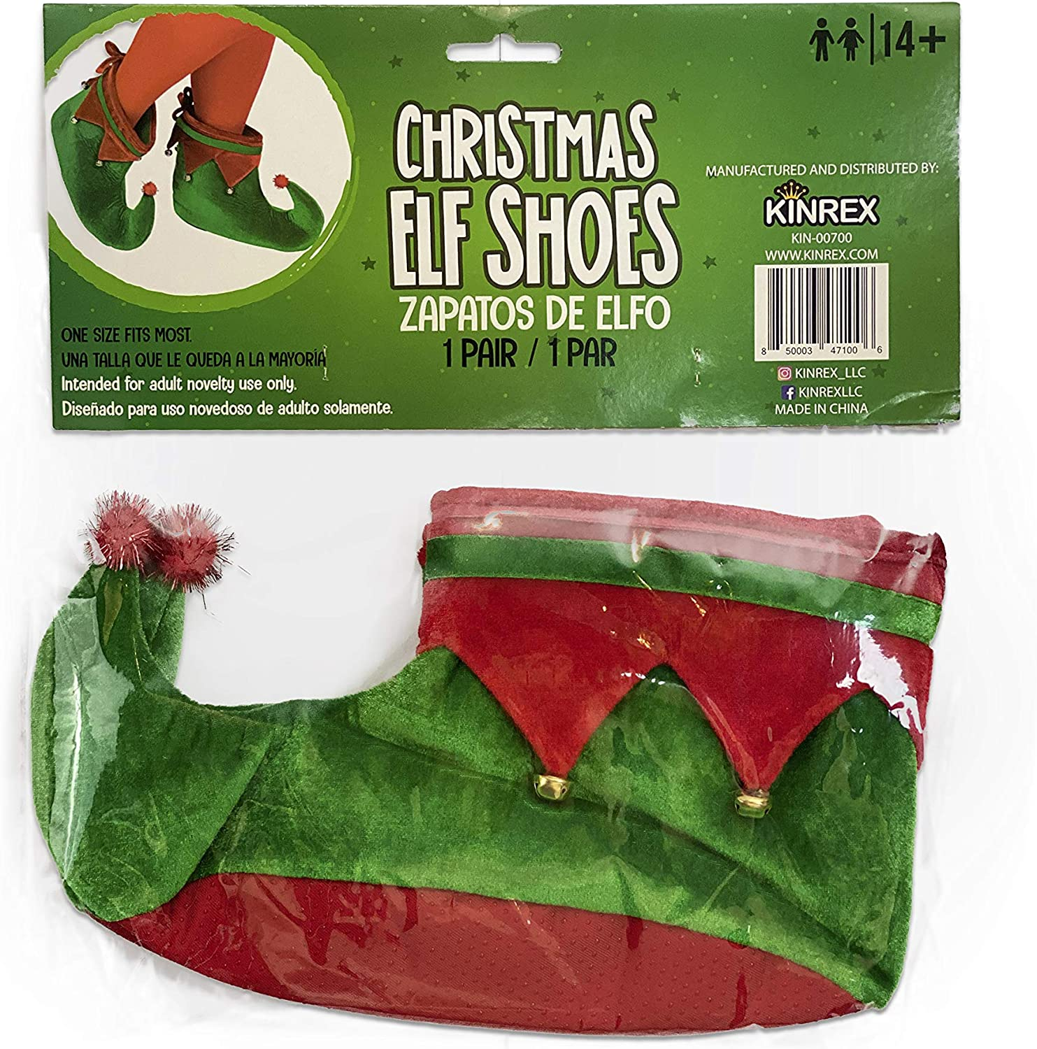 KINREX Christmas Elf Shoes Costume Kids - Special price OFFicial for a limited time Plush an