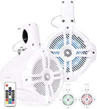 Belva BWT6LED Pair of 500W 6.5-inch Wakeboard Tower Speakers with Multi-LED Lights and Remote (Pair)