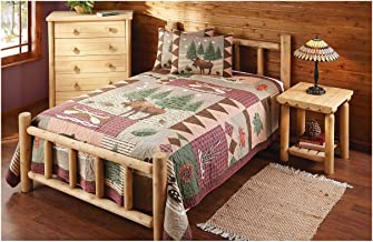 log cabin bunk bed