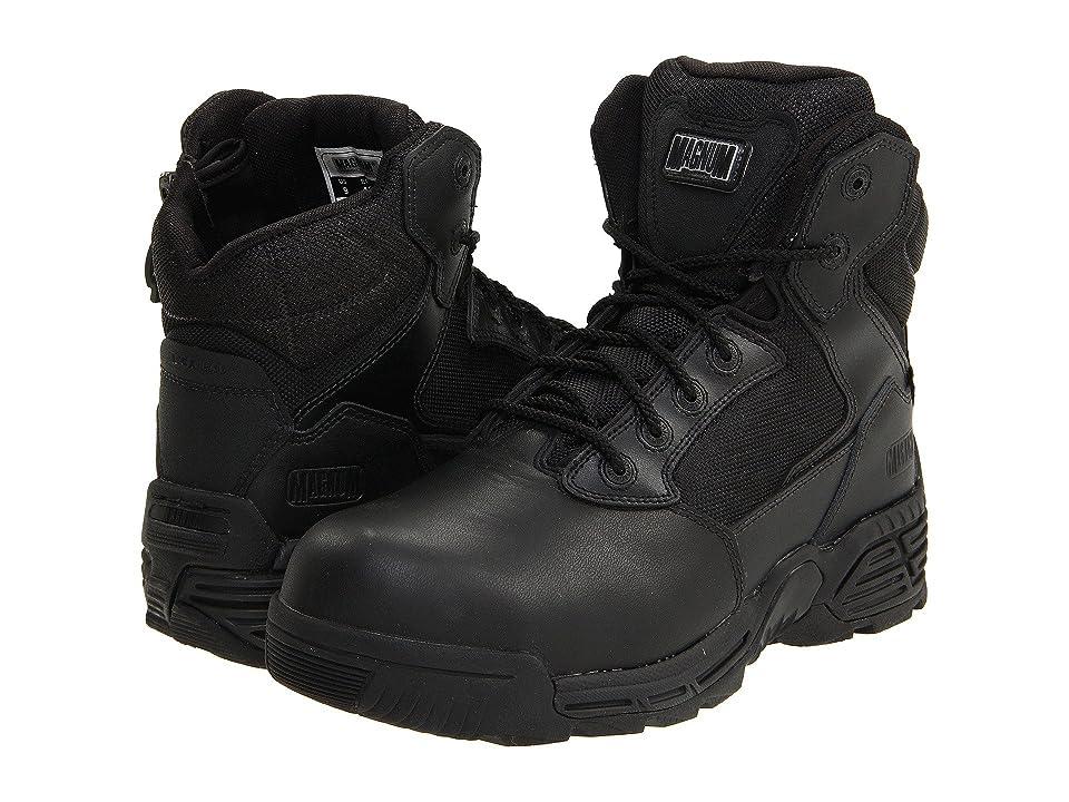 Magnum Stealth Force 6.0 Side-Zip Composite Toe (Black) Men