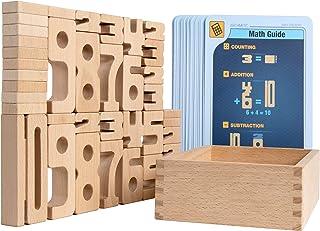 Kancharo サムブロックス 遊びながら数字が学べる積み木 知育玩具 日本語ガイド付き (サムブロックス・ミニ・スターターセット)