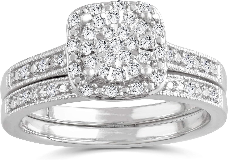 DiamondMuse 1 low-pricing 5 Carat Diamond 5% OFF Brid Double Round-Cut Halo