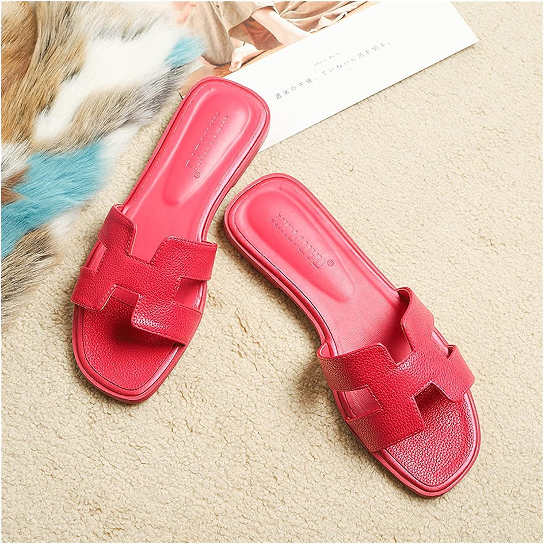 Dakecy Women's Flat Sandal Fashion Sliders Band Summer H Max 54% Las Vegas Mall OFF