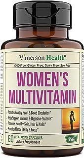 Women's Daily Multivitamin Supplement. Vitamins and Minerals. Chromium, Magnesium, Biotin, Zinc,...