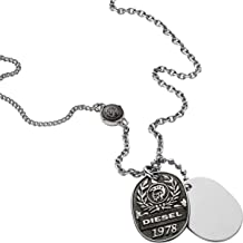 Diesel Pendant Necklaces Stainless Steel for Men - Dx1106040