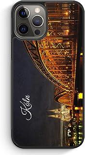 Köln Schriftzug Skyline Foto - Silikon Hülle für iPhone 1