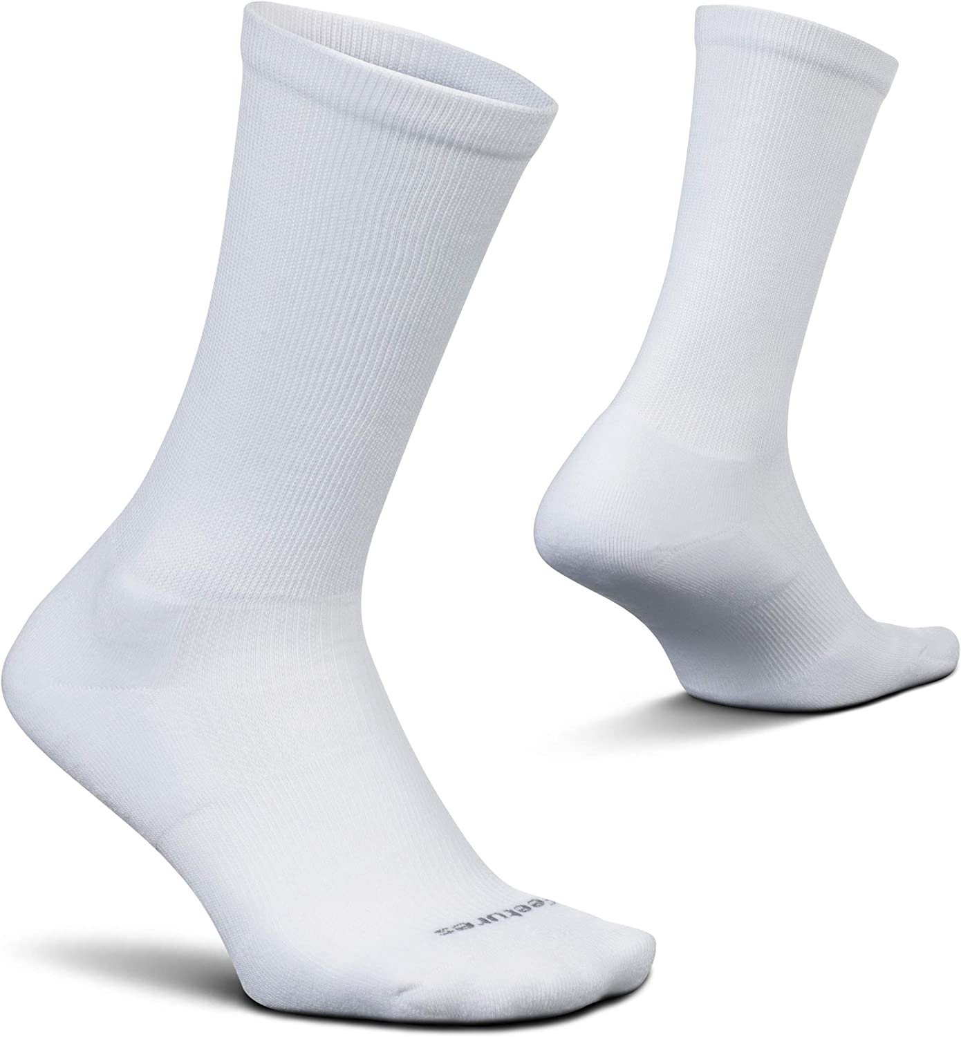 Feetures Therapeutic Cushion Crew- Diabetic Compression Socks for Men & Women, Moisture Wicking