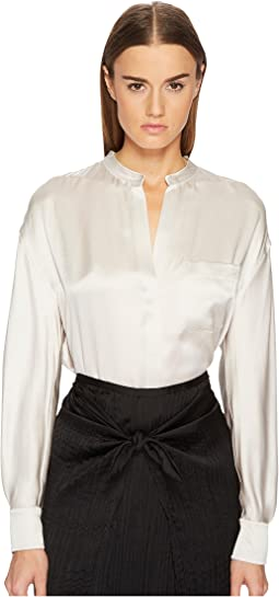Vince - Single Pocket Blouse