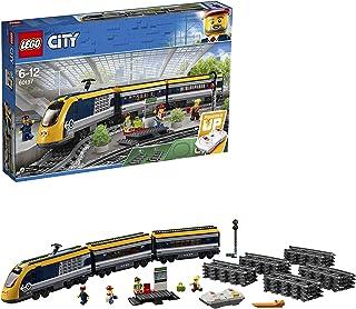 LEGO 60197 City Trains Passagierstrein Bouwset, Motor op Batterijen, Rails en Accessoires voor Kinderen van 6 Jaar en Ouder