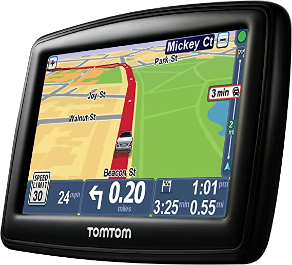 TomTom Via 1525TM 5 Inch GPS Navigation Device with Free Traffic Free Maps of North America Advanced Lane Guidance and Spoken Turn-By-Turn Directions