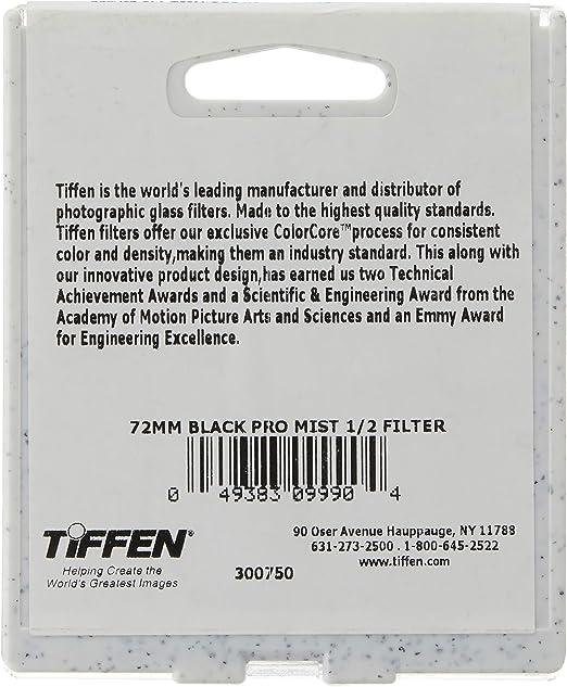 Tiffen Filter 49mm Black Pro Mist 1 2 Filter Kamera
