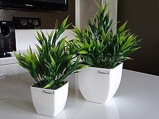 Planters™ Artificial Plant with Pots. Set of 2