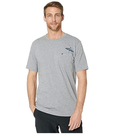 TravisMathew Tourist Trap T-Shirt (Heather Grey) Men