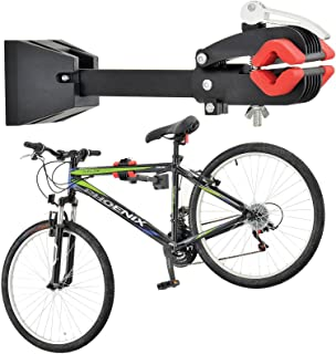 unisky Foldable Wall Mount Bike Repair Stand,Bicycle Mechanic Maintenance Rack Workstand