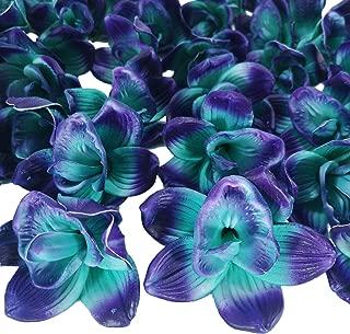 Best artificial purple orchids Reviews