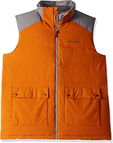 Columbia Winter Challenger Down Men's Vest (Black/Shark/Bright Copper/Boulder)