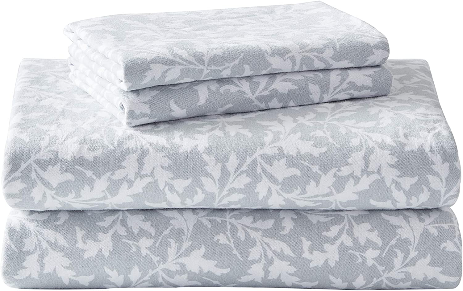 Laura Ashley Home Flannel Collection Set-100% New arrival Ultr Cotton Sheet Now free shipping