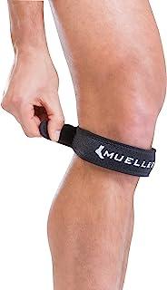 Mueller Jumper`s Knee Strap, Black, One Size Fits Most | Single Strap Knee Brace