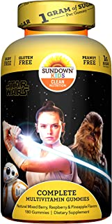 Sundown Kids Star Wars Complete Multivitamin, 180 Count