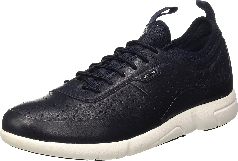 Geox Men's U Brattley B Low-Top Sneakers