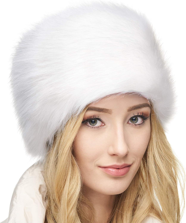 Futrzane Russian Faux New life Fur Hat for Women Real Like Financial sales sale Comfy -