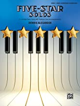 Five-Star Solos, Bk 1: 11 Colorful Solos for Early Elementary to Elementary Pianists