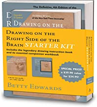Drawing on the Right Side of the Brain Starter Kit: The Definitive
