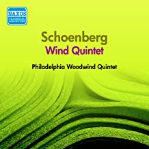 Schoenberg: Wind Quintet (Philadelphia Woodwind Quintet) (1957)